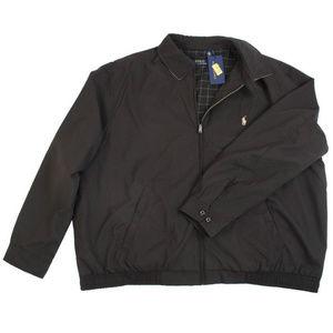 Ralph Lauren Black Biswing Windbreaker 2XLT $145